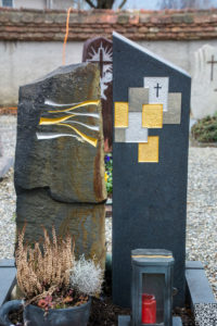 Einzelgrab_Basalt_Nero-Asseluto - Grabmal - Einzel und Urnengräber - Natursteine Schreiner - Allensbach
