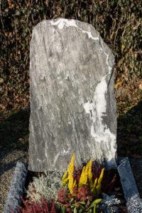 Einzelgrab_Marmor_Schwarz - Grabmal - Einzel und Urnengräber - Natursteine Schreiner - Allensbach