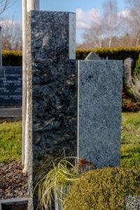 Einzelgrab_Silber-Shadow_Viskont - Grabmal - Einzel und Urnengräber - Natursteine Schreiner - Allensbach