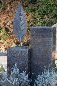 Urnenstein_Paradiso - Grabmal - Einzel und Urnengräber - Natursteine Schreiner - Allensbach
