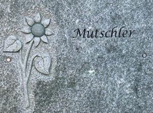 Urnenwandplatte 1 Natursteine Schreiner