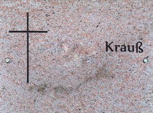 Urnenwandplatte 14 Natursteine Schreiner